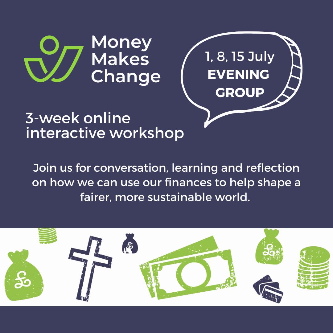 Online workshop series | 1, 8 & 15 July | Evening Group