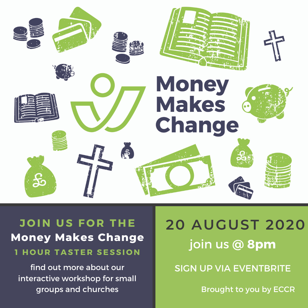 Money Makes Change Taster Session | 20 August 8pm