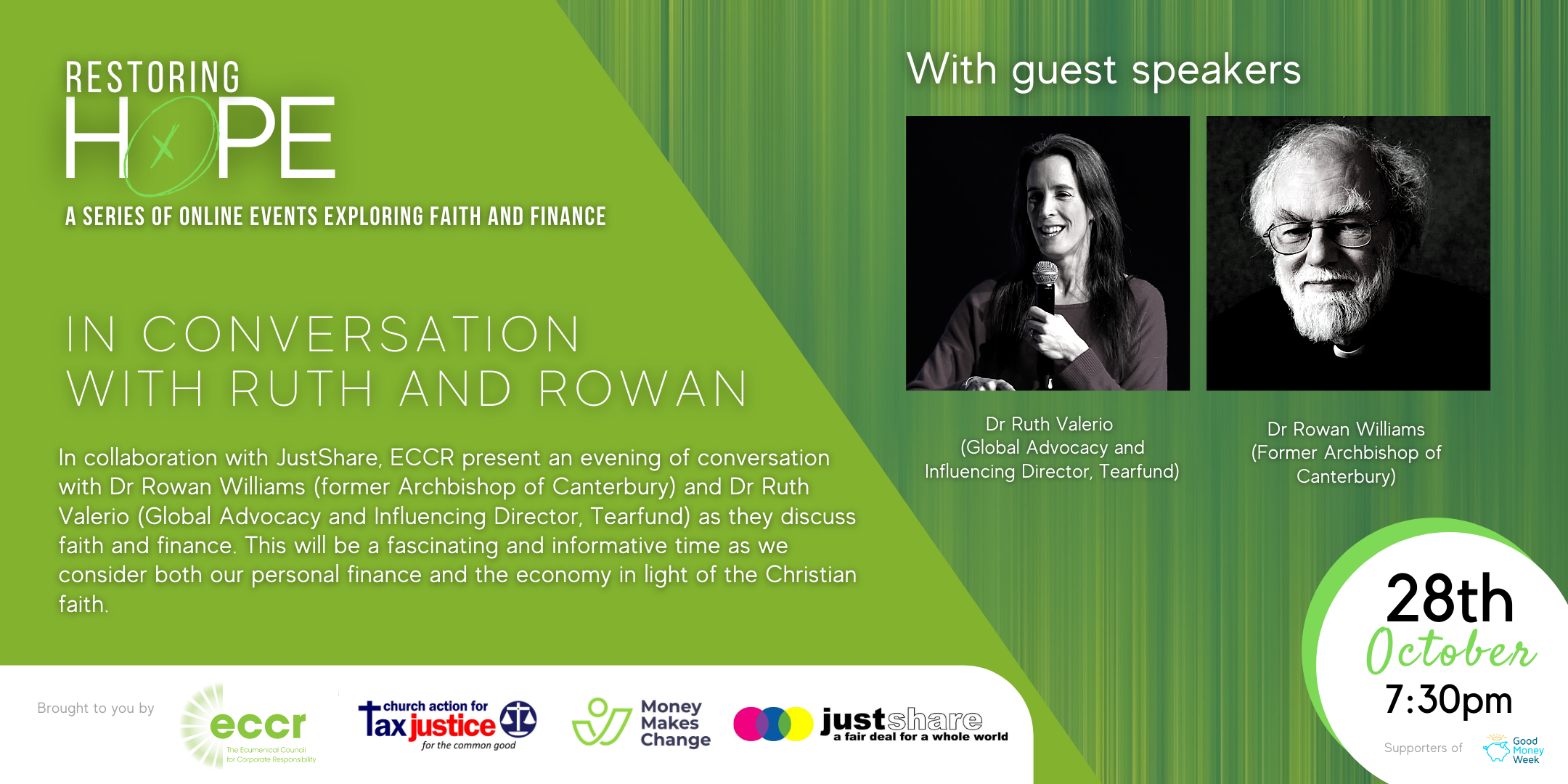 Restoring Hope | In Conversation with Ruth and Rowan