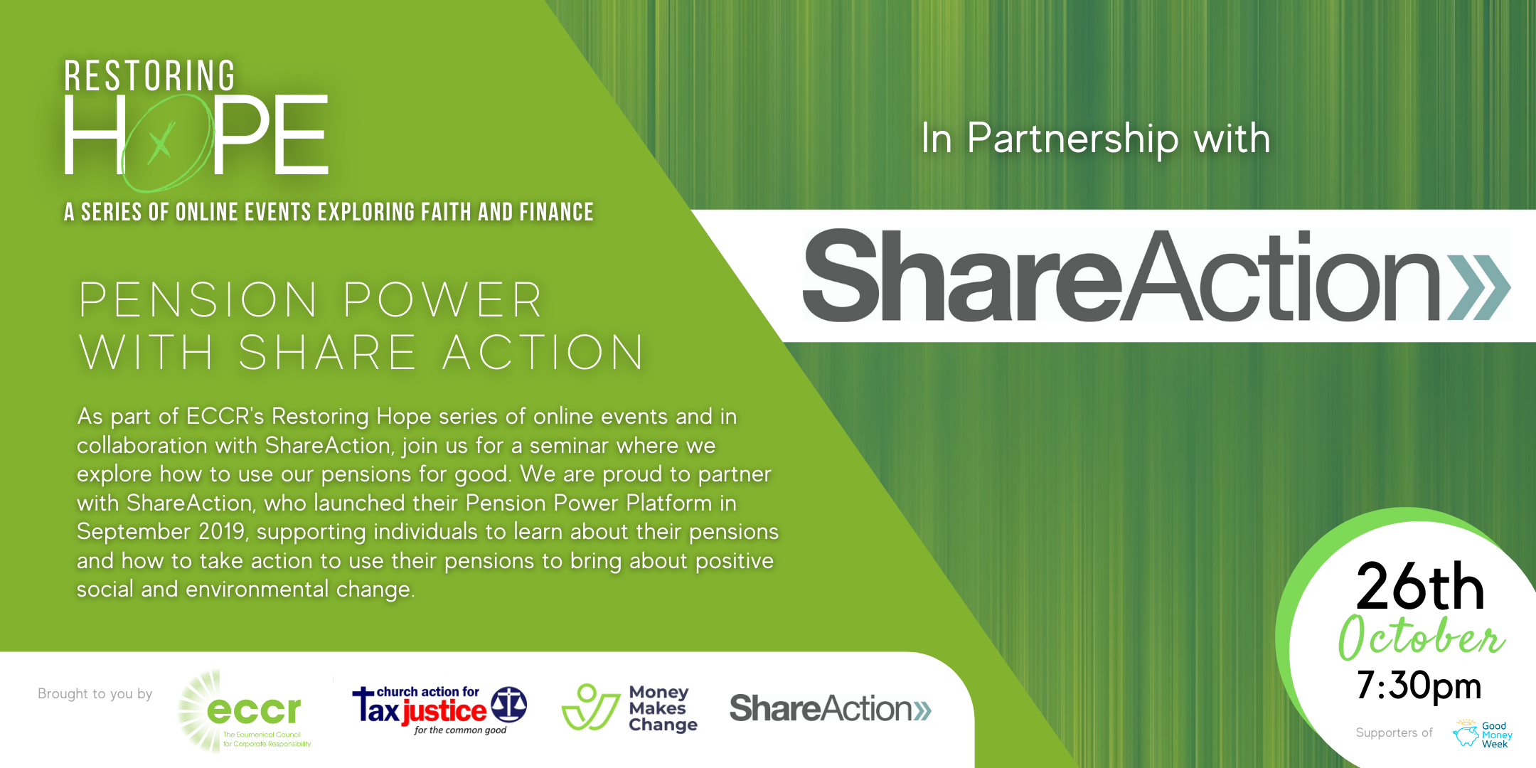 Restoring Hope | Pension Power with ShareAction