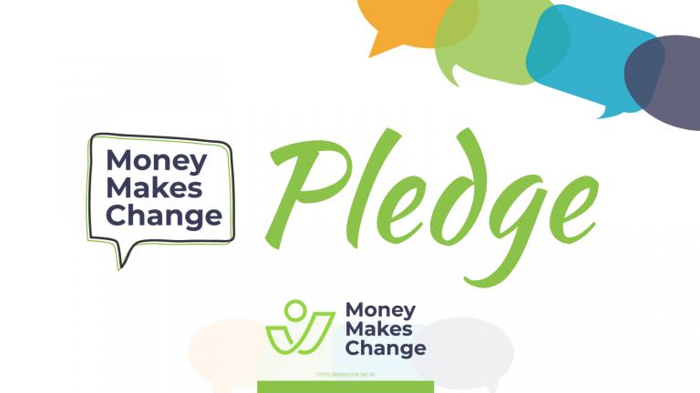 Money Makes Change Pledge