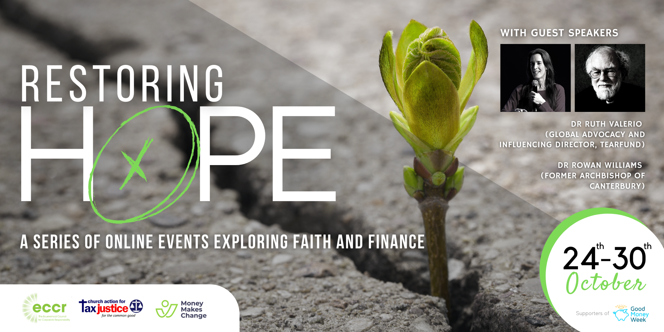 Restoring Hope | A Series of Online Events: 24 – 30 October 2020