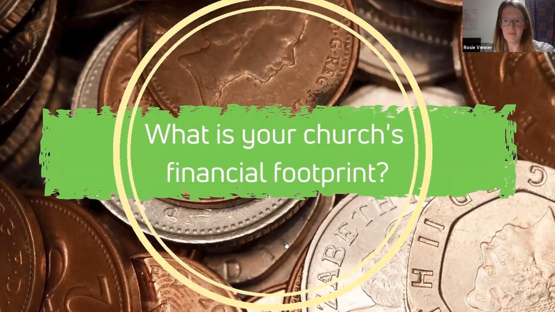 Restoring Hope | Your church's financial footprint (29 October 2020)