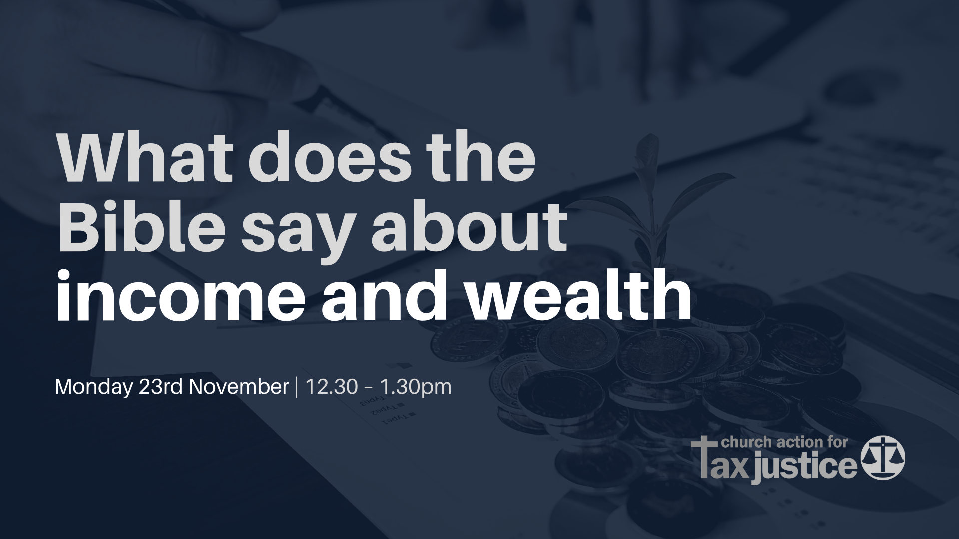 Bible Study | What does the Bible say about income and wealth?