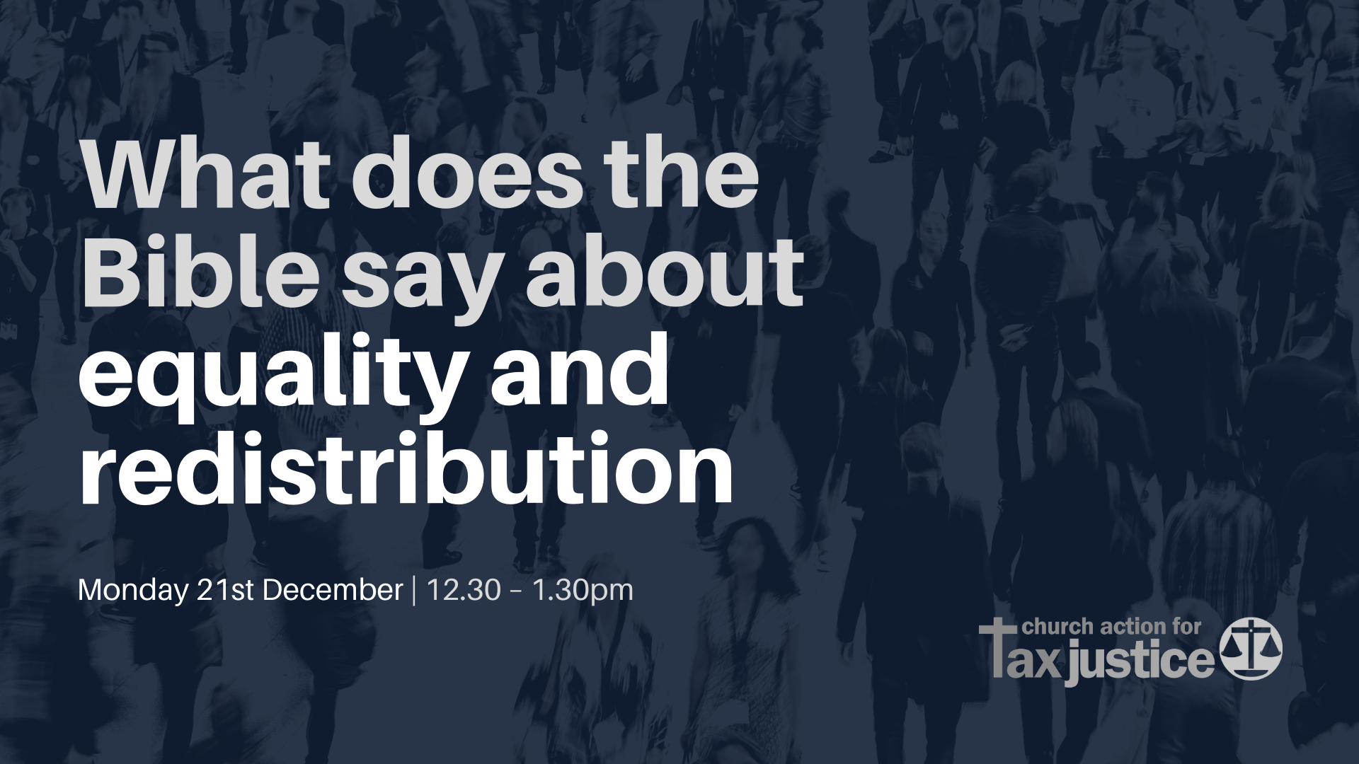 Bible Study | What does the Bible say about equality and redistribution?