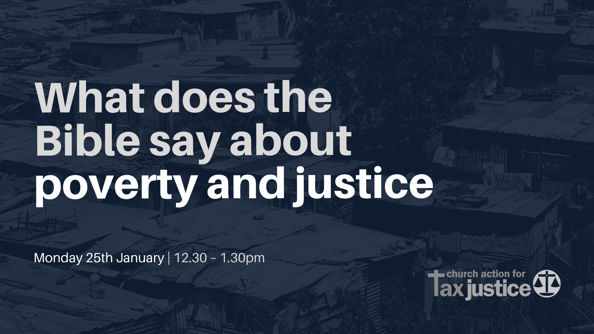 Bible Study | What does the Bible say about poverty and justice?