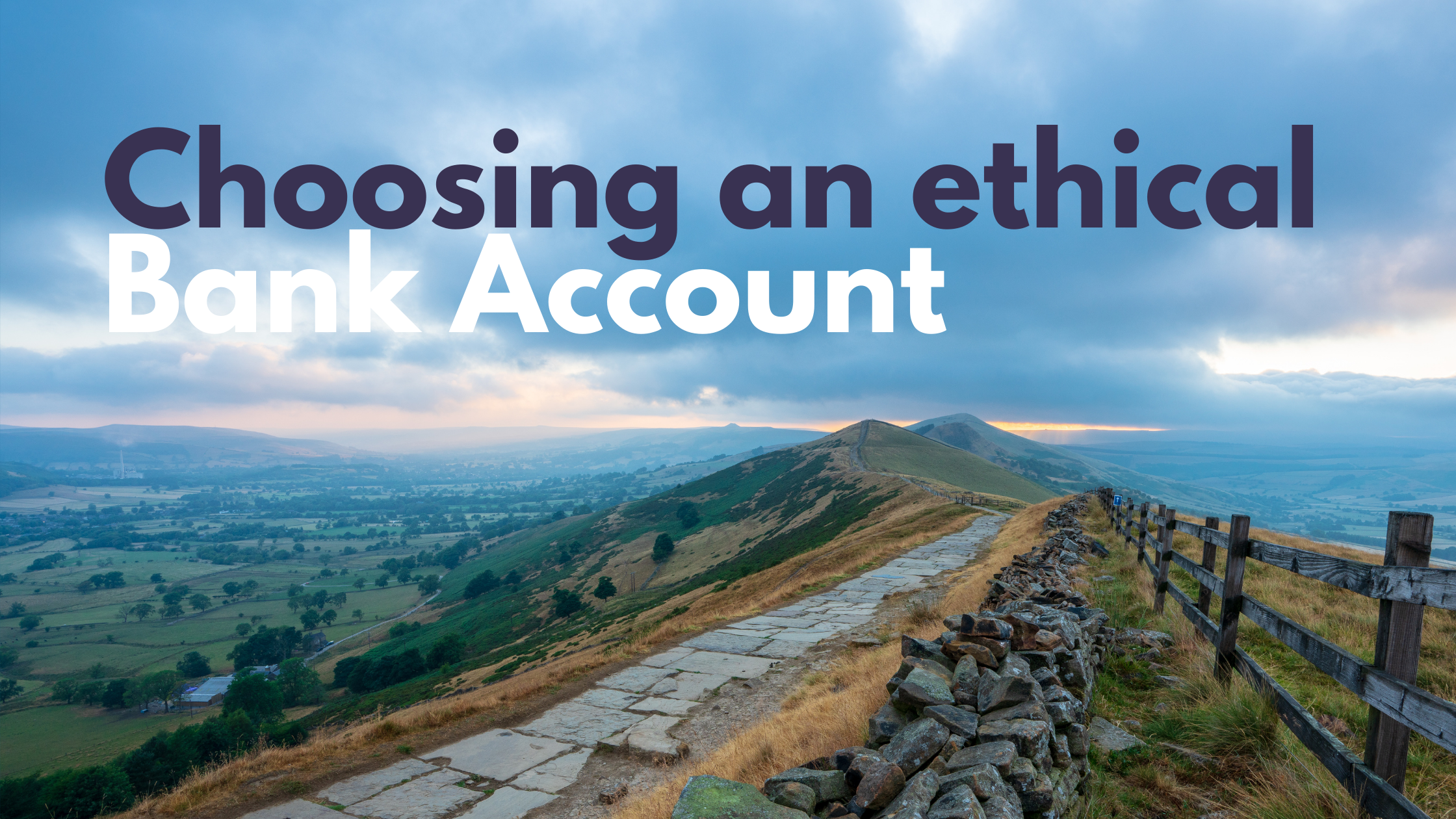 Choosing an ethical bank account for your church